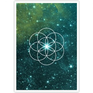 Seed of Life post card