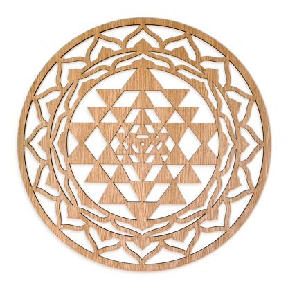 Sri Yantra wall decoration