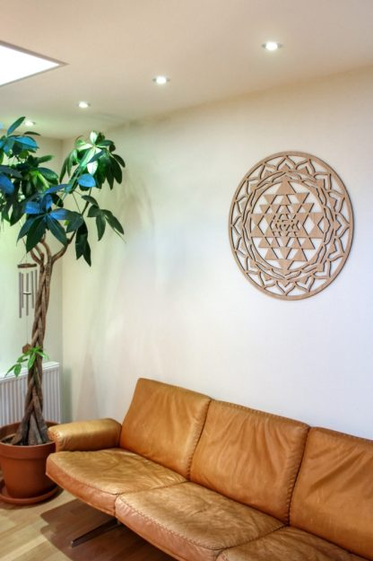 Sri Yantra wall decoration 75 cm