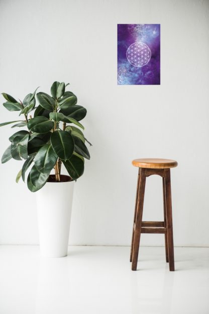 Flower of Life Poster levensbloem